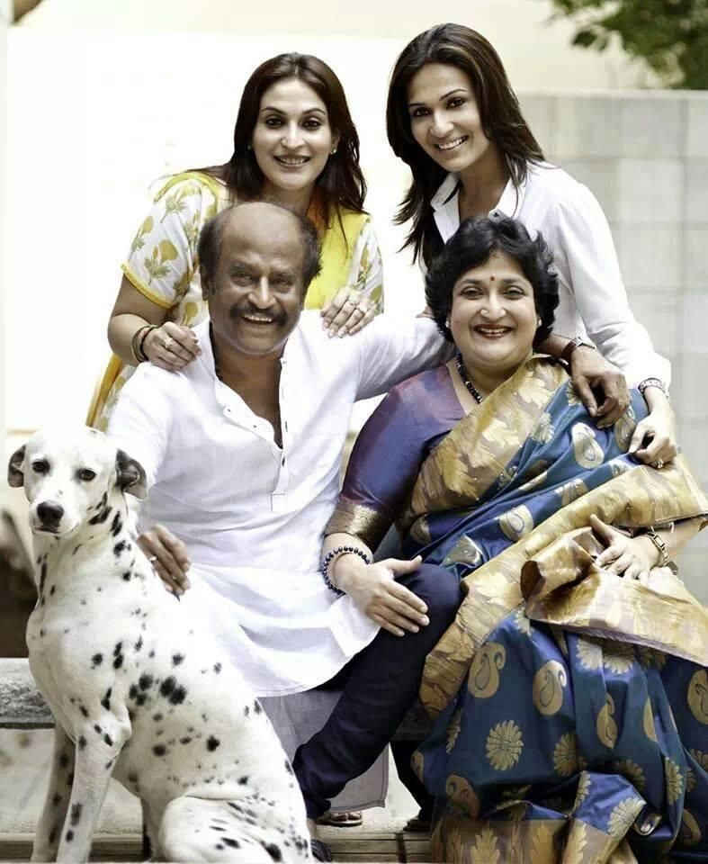 Rajnikanth-Biography-family