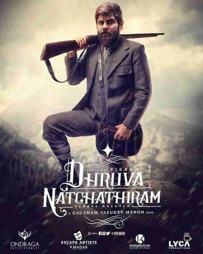 Dhruva Natchathiram Movie poster2