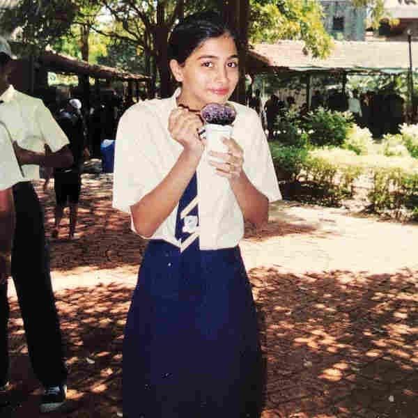 Pooja Hegde childhood image