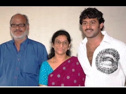 Prabhas Parents